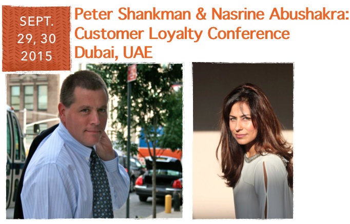 Peter Shankman Conference Nasrine Abushakra