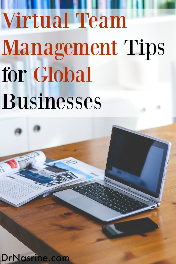 Virtual Team Management Tips for Global Businesses Pinterest