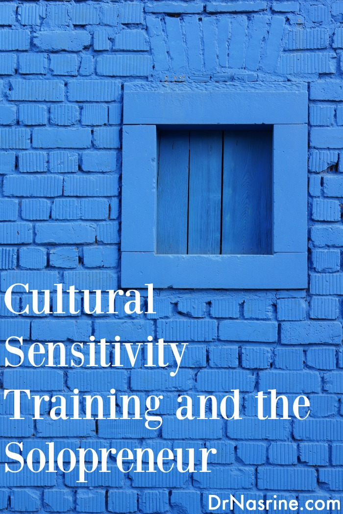 Cultural Sensitivity Training and the Solopreneur