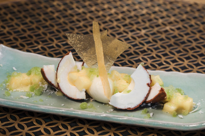 Coya Coconut Mousse